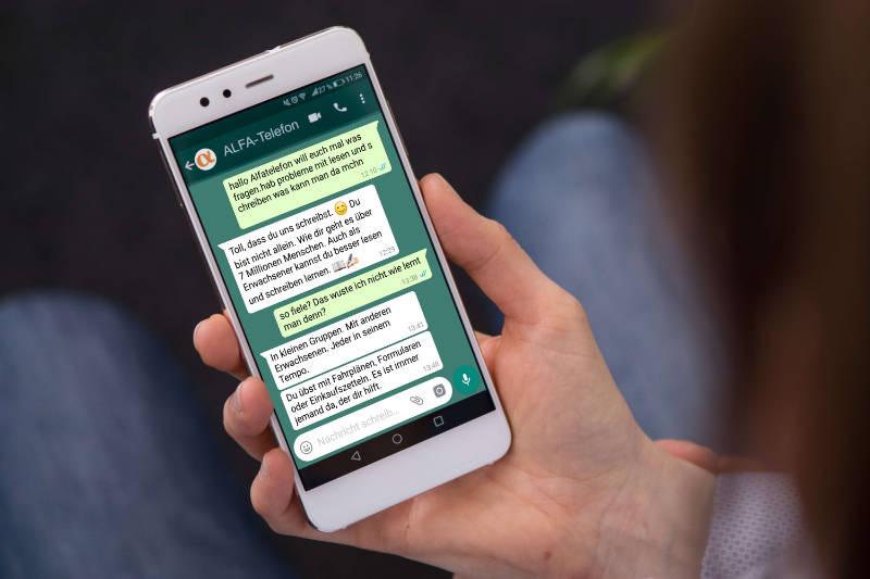 Alfa-Telefon Whatsapp Beratung-BG